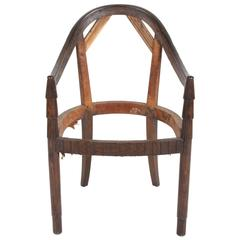 Nice French Art Deco Armchair Frame