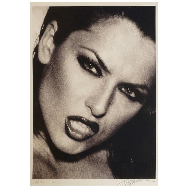 Bob Carlos Clarke, ''Vanessa'' 1989, Giclée Print, Signed