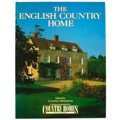"""The English Country House,"" First Edition Book by Venessa Berridge"