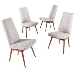 Adrian Pearsall Model 1613-C Dining Chairs for Craft Associates