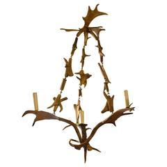 Fallow Deer Antler Chandelier