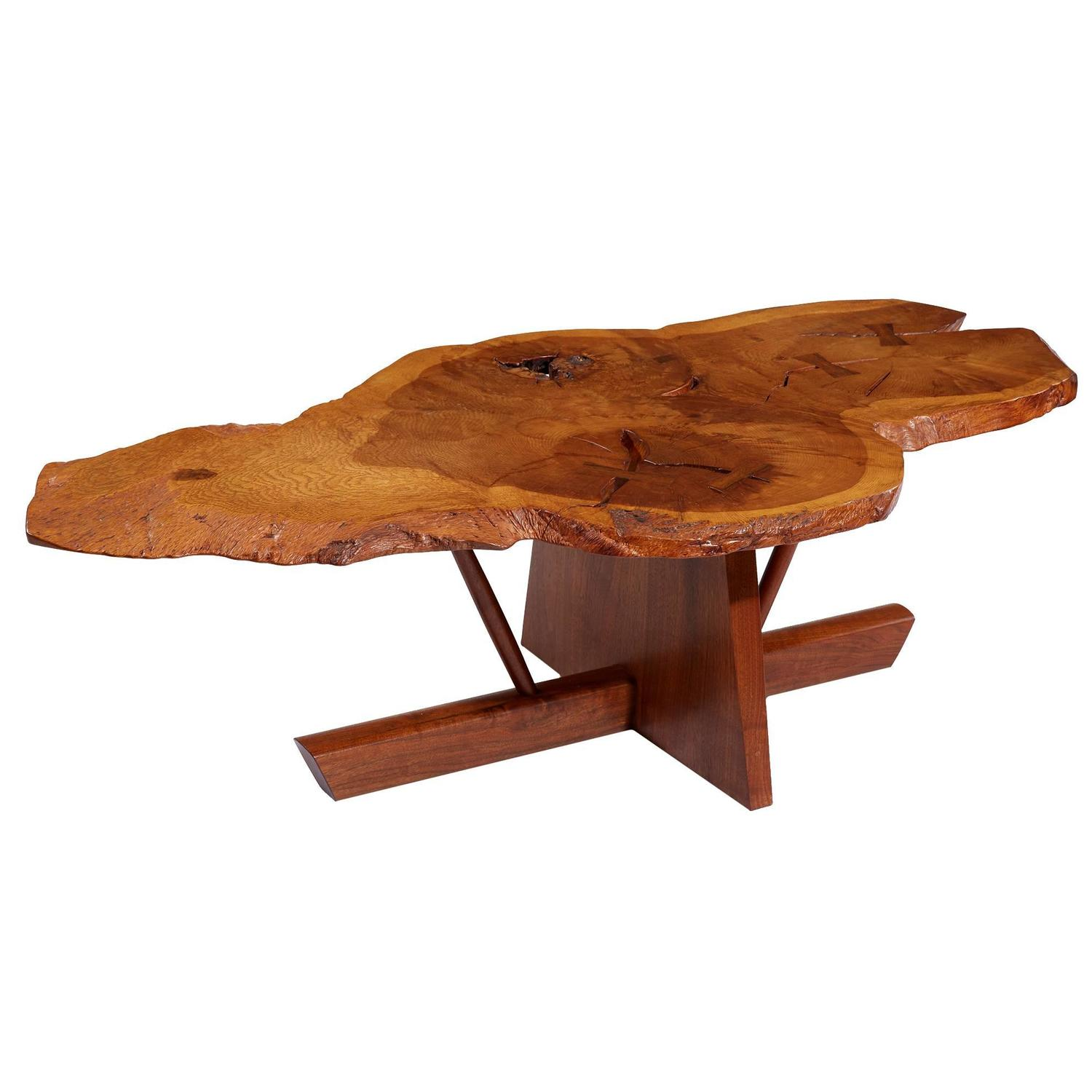Delicieux George And Mira Nakashima English Oak, Walnut And Hickory Minguren Coffee  Table For Sale At 1stdibs