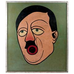 Hitler Bean Bag Game Board