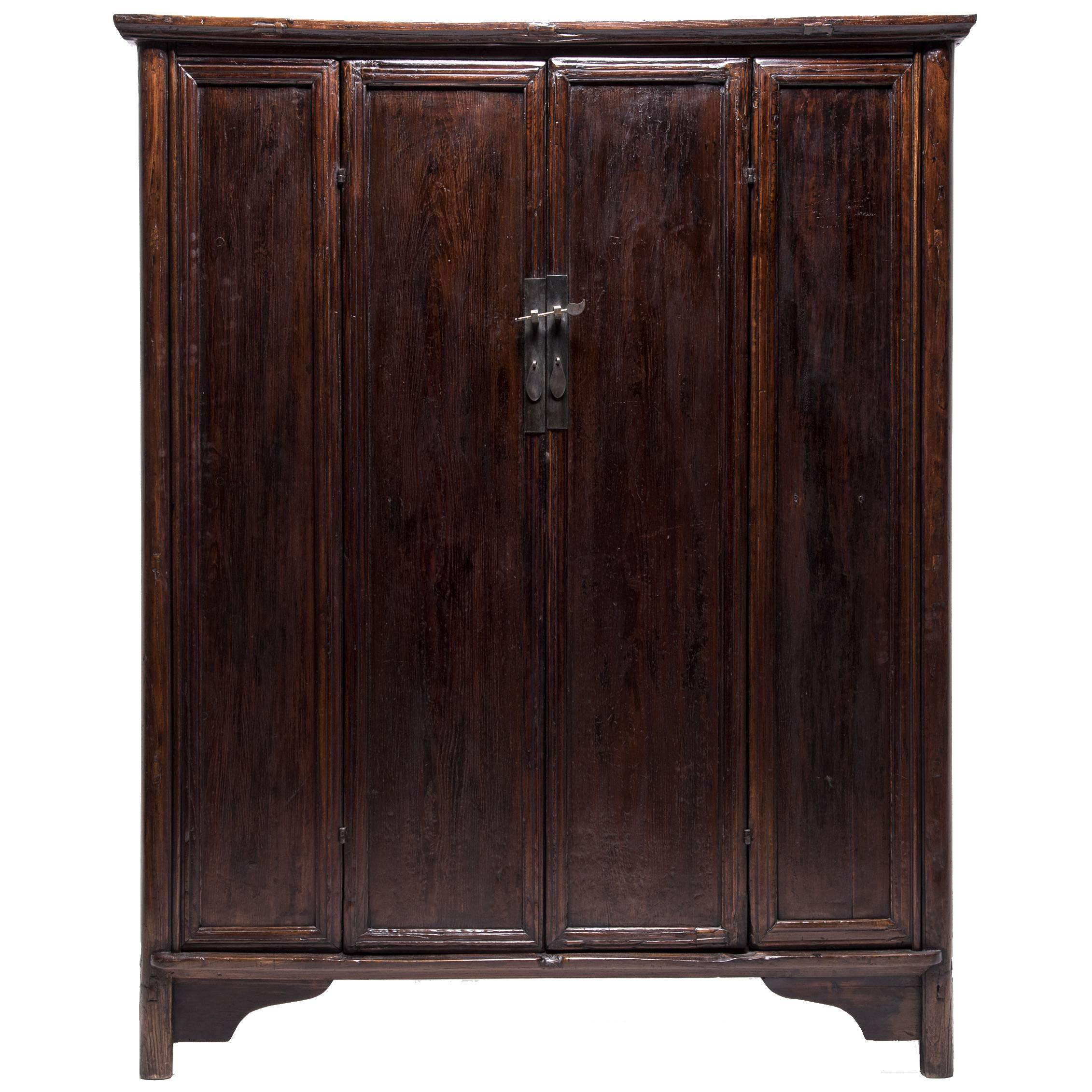 Chinese Four-Panel Cabinet, c. 1850