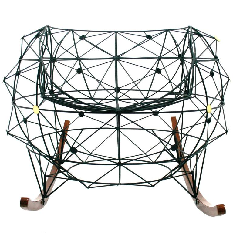 "Baltasar Portillo ""Constellation Rocker"" Functional Art Chair 2016 For Sale"