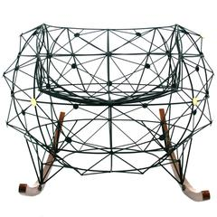 "Baltasar Portillo ""Constellation Rocker"" Functional Art Chair 2016"