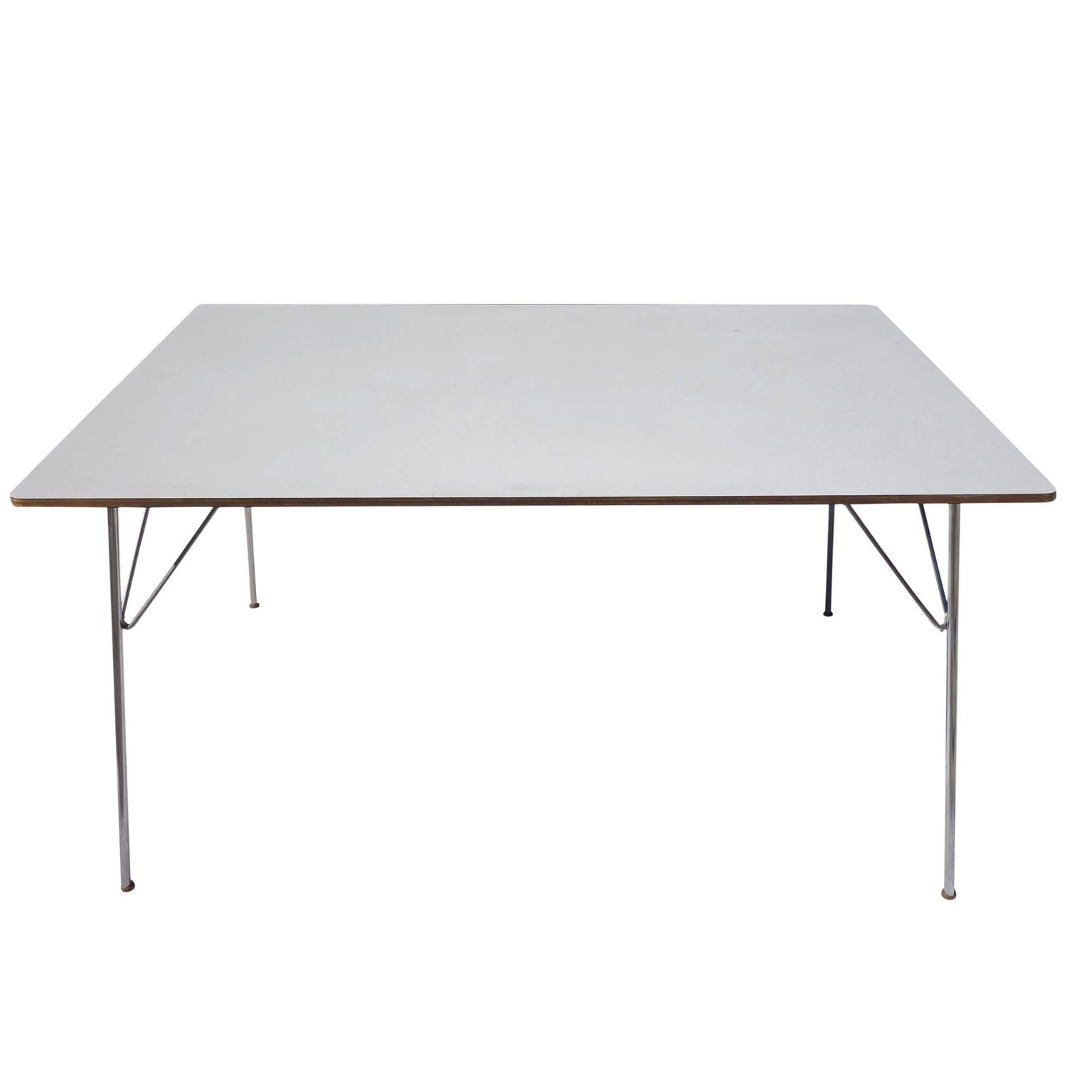 Mid Century Eames DTM U0027Dining Table Metalu0027