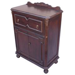 1920s Angeles Furniture Company Writing Desk or Cabinet
