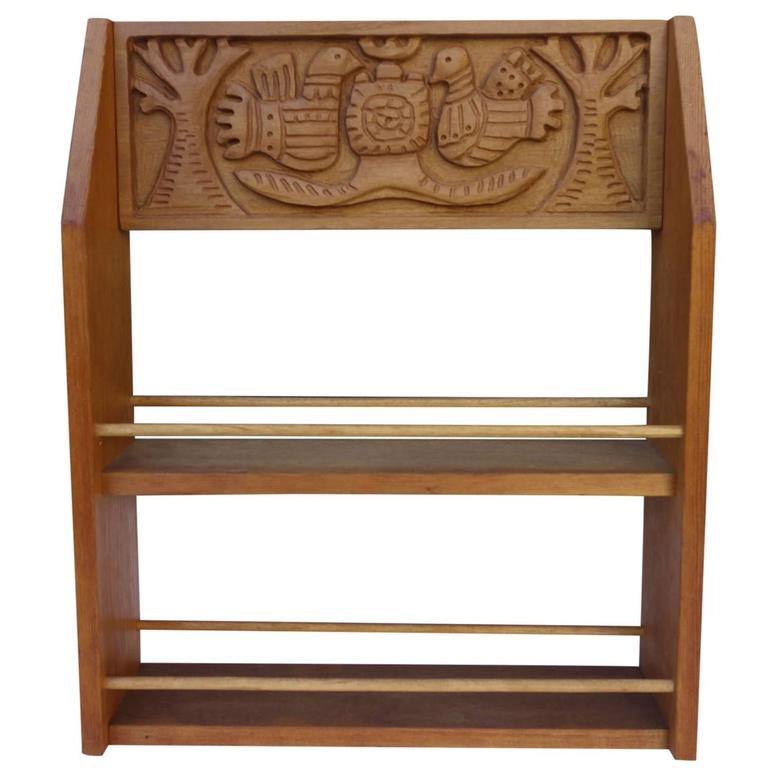 Evelyn And Jerome Ackerman Mid Century Spice Rack, Era Industries For Sale
