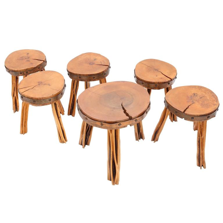 Incredible Set Of Stools For Sale At 1stdibs