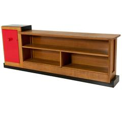 Important and Rare Art Deco Haagse School Sideboard by Henk Wouda for Pander