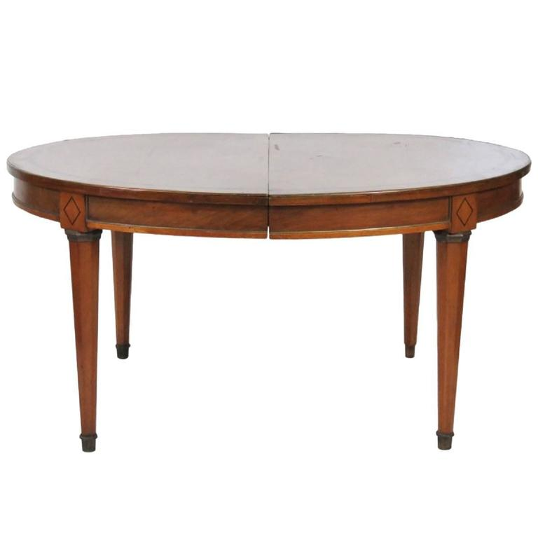 Antique Custom Directoire Style Dining Table For Sale at  : VMD2681orgl from www.1stdibs.com size 768 x 768 jpeg 19kB