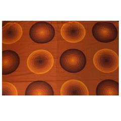 Verner Panton Curtains or Textile for Mira, Large Amount, 1960s