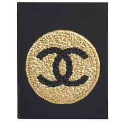 Brass Adorned Chanel Book by Brian Stanziale