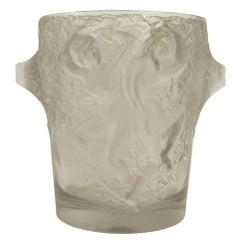 """Lalique Ice Bucket """"Ganymede"""""""
