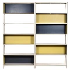 Rare Modular Bookcase by Friso Kramer for Asmeta