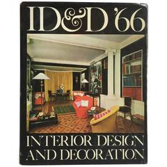 """Id&D 66 Interior Design and Decoration,Jacqueline Inchbald"" Book, 1965"
