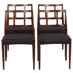 Set of Dining Chairs by Johannes Andersen for Uldum Møbelfabrik, 1960s