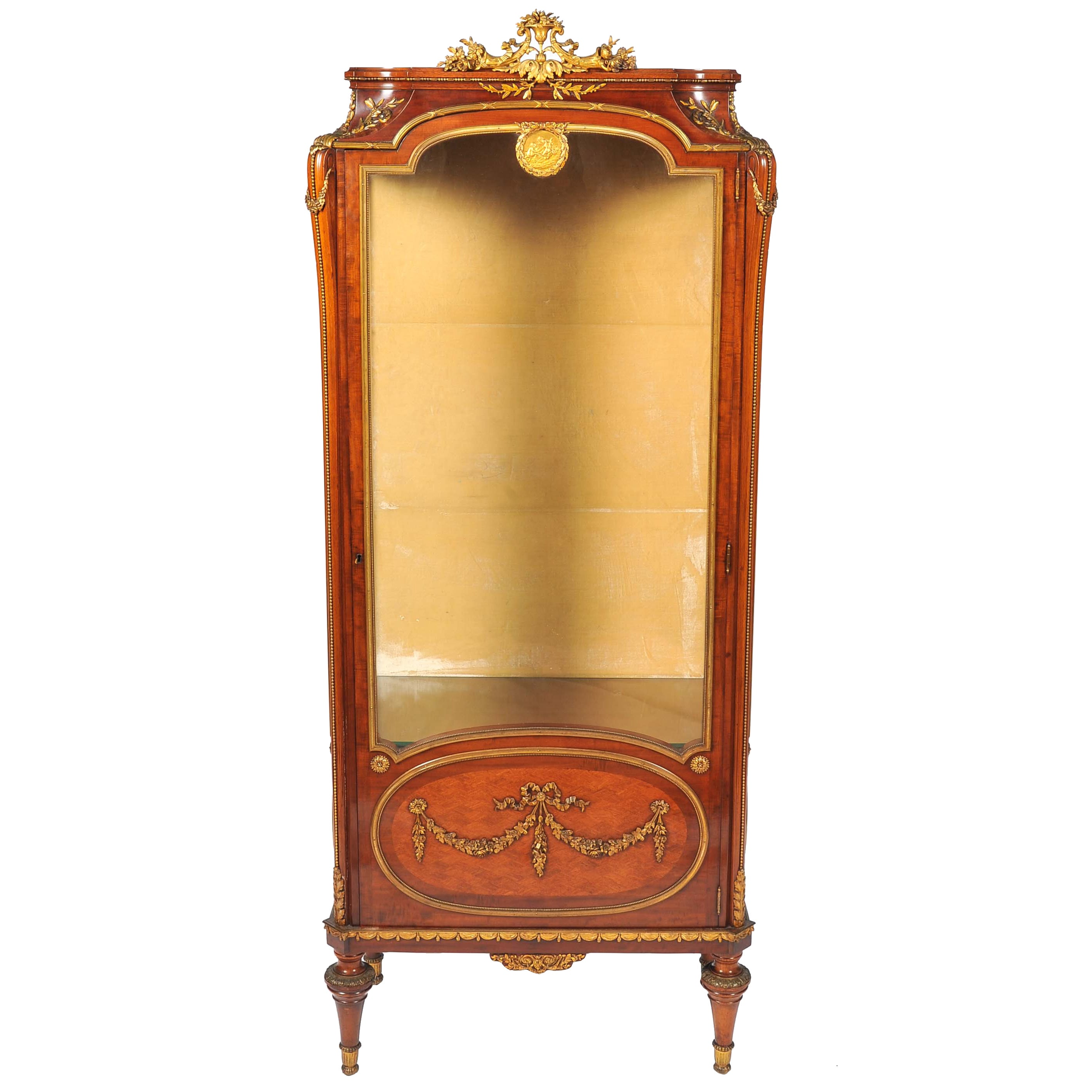 Louis XVI Style Vitrine or Display Cabinet