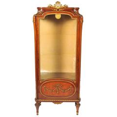 Louis XVI Style Vitrine or Display Cabinet
