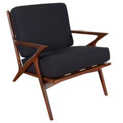 Poul Jensen Danish Modern Z Chair for Selig
