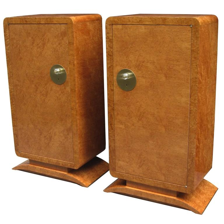 Pair of Art Deco Cabinets For Sale