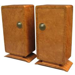 Pair of Art Deco Cabinets