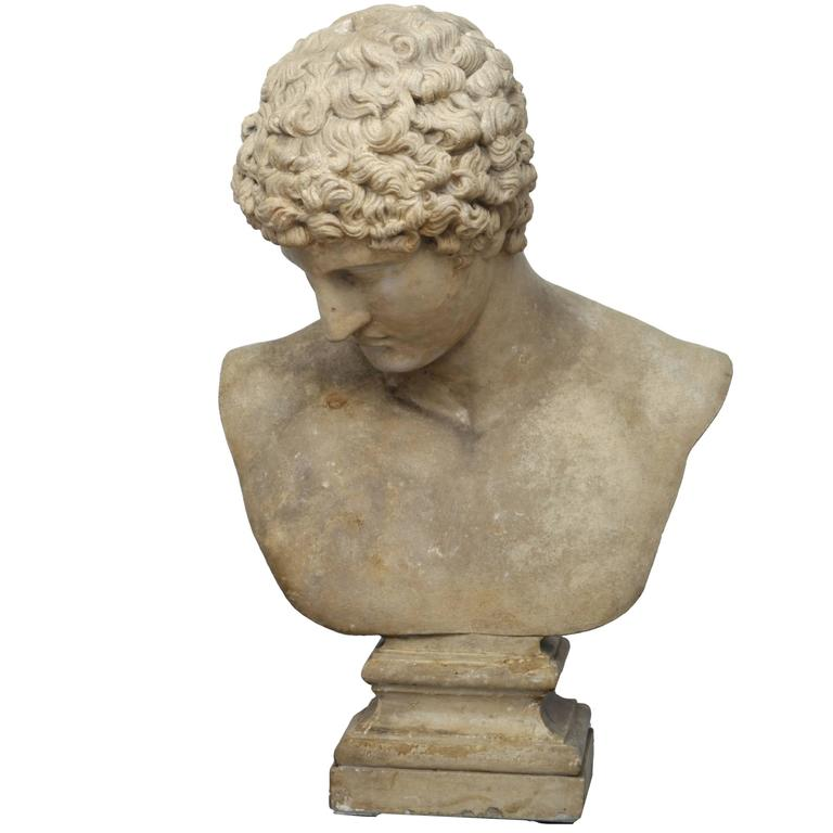 Copy of the Capitoline Antinous, 19th Century