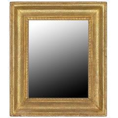 Italienischer vergoldeter Spiegelrahmen, 18. Jahrhundert