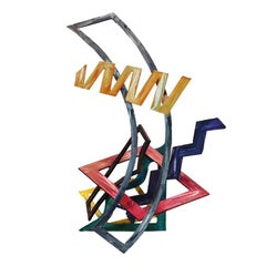 Ernest Shaw Three Dimensional Metal Sculpture