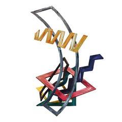 Ernest Shaw Three Dimensional Metal Sculpture