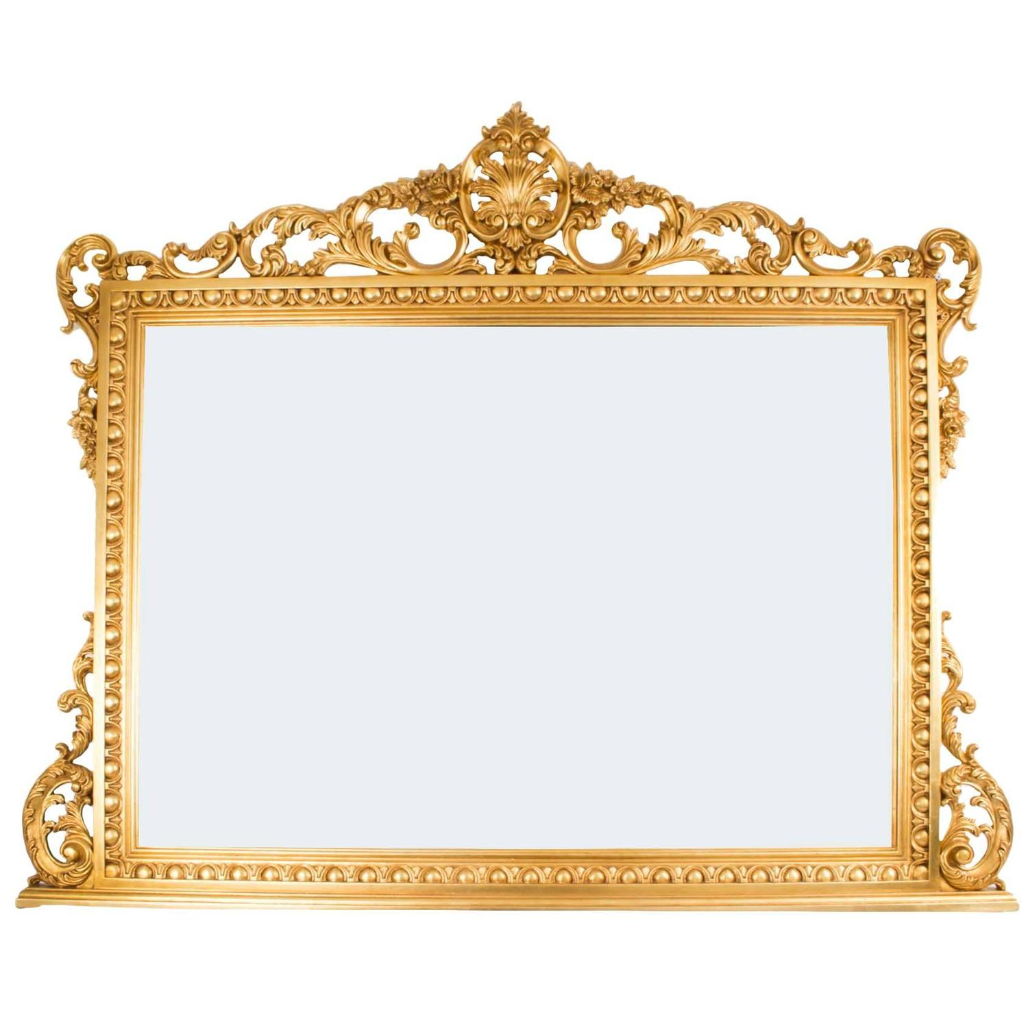 Ornate mirror large driverlayer search engine Large wooden mirrors for sale