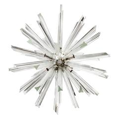 Venini for Camer Crystal Sputnik Chandelier