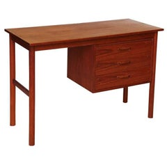Arne Vodder Petit Teak Writing Table Desk