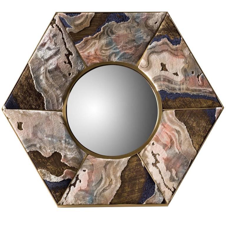 Magical Hexagonal Wall Mirror 1