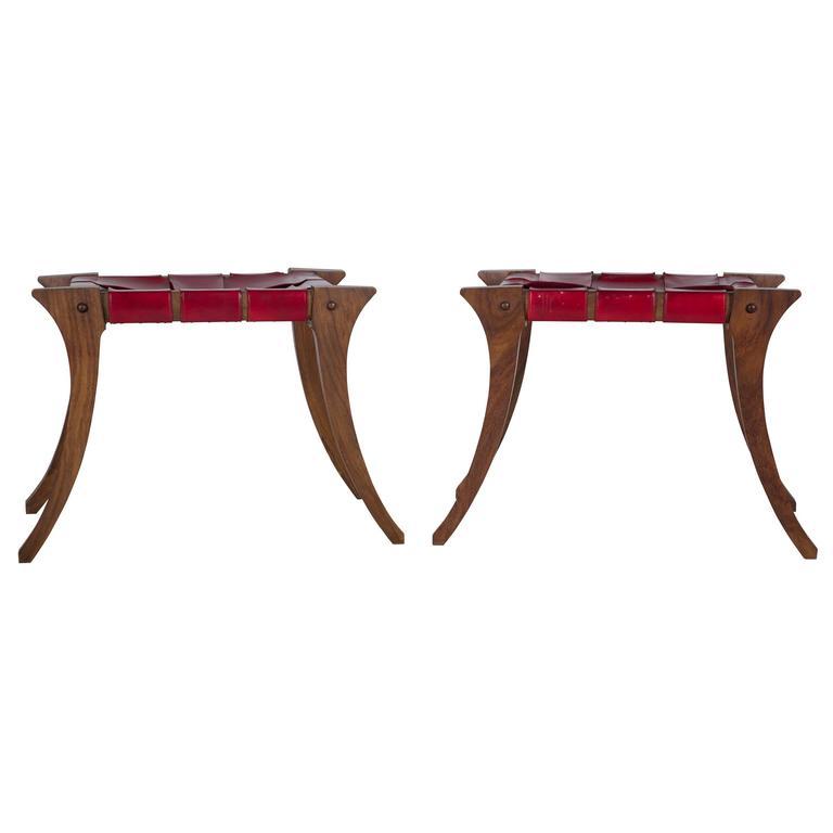 klismos stool ~ pair of klismos stools for sale at 1stdibs