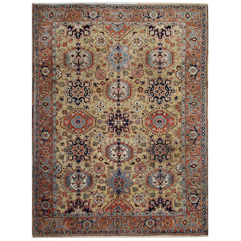 Antique Rugs, Persian Rugs, Carpet from Heriz