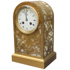 Fine Tiffany Studios Art Nouveau Clock
