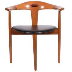 Rare Armchair Design by Erik Andersen & Palle Pedersen for Randers Møbelfabrik
