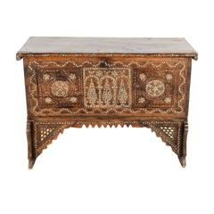 Inlaid Middle Eastern Trunk