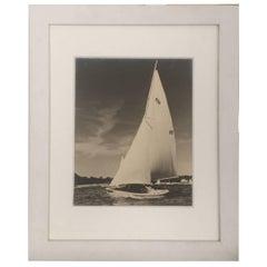 Vintage Sailboat Photo by R.W. Kolk