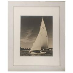 Vintage Sailboat Photo by R.W. Kolk