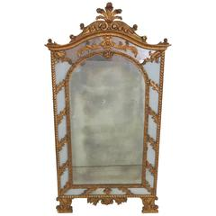 19th Century Italian Gilt Mirror