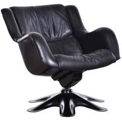 Yrjo Kukkapuro Lounge Chair (Model 418) for Haimi, Finland