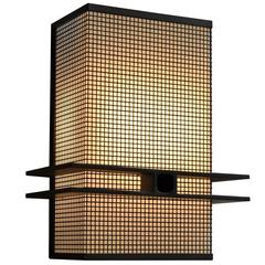 Square Mesh Wall Sconce