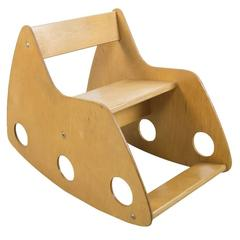 Plywood Child's Rocker by Albrecht Lange & Hans Mitzlaff