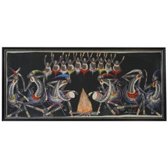 African Painting from Congo 1950s