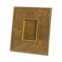 "Tiffany Studios New York ""Grapevine"" Pattern Bronze Picture Frame"