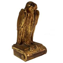 American Arts & Crafts Sculpture of a Pelican