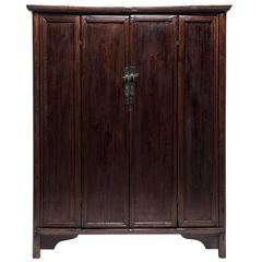 Two-Door Four-Panel Cabinet